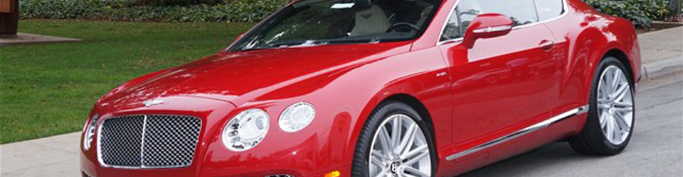 Exotic Cars 2013 Bentley Dragon Red Continental Gt Speed